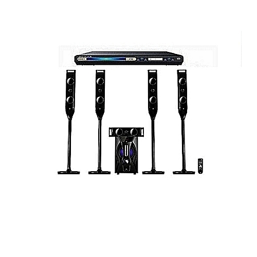 Bluetooth Home Theatre System DP-5060M + Powerful DVD Player