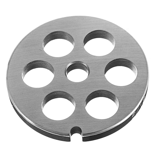 Stainless Steel Meat Grinder Discs And 12mm Hole For #5 Meat Grinder