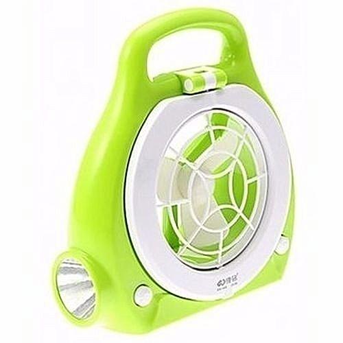Rechargeable Lamp & Fan -