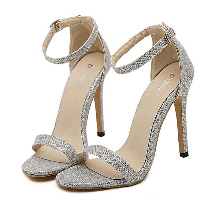 38a388cb1bd Sexy Women High Heels Sandals Shoes Woman Party Wedding Ladies Pumps Ankle  Strap Buckle Stilettos Sexy