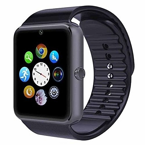 Smart Watch (camera, Sim And Memory Card Enabled) BLACK