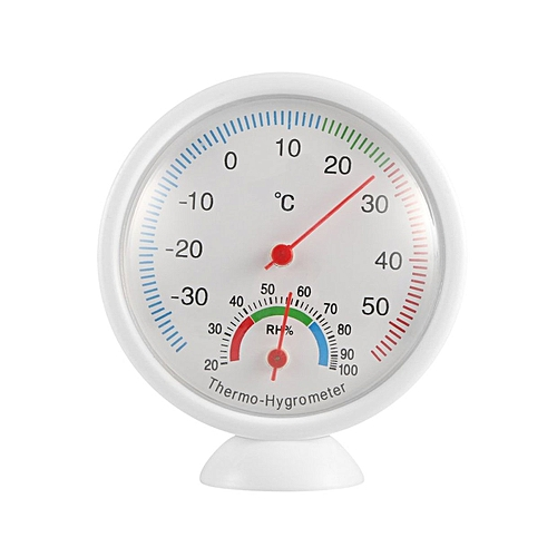 WS-A1 Indoor Outdoor Thermometer Hygrometer Portable Plastic Thermohygrometer