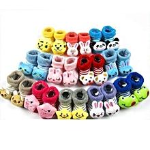 Boys Booties Gift Set Socks 3 Pairs - Multicoloured