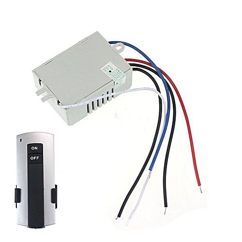 Lienine_220V Wireless 1Way Light Remote Control Switch ON/OFF Anti-interference