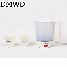 c78aa3313 DMWD Mini Electric Kettle Travel Water Heating Cup Household Student Teapot  0.5L 220-240V