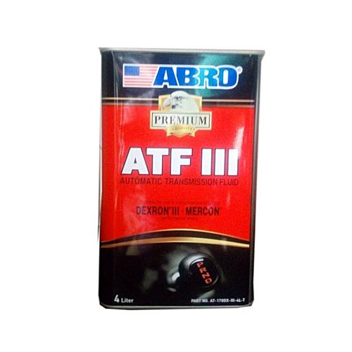 Abro Abro ATF III Automatic Transmission Fluid (Dexron III & Mercon) 4 Litre