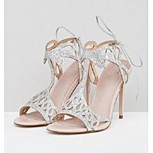 6360fdbdc058 Faith Fizz Cutout Heeled Sandals