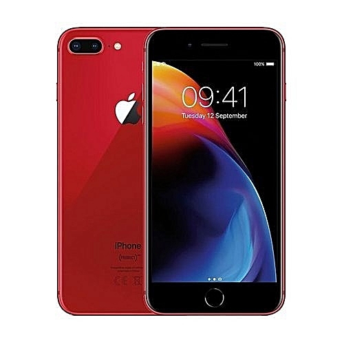 IPhone 8 Plus 5.5-Inch HD (3GB,64GB ROM) IOS 11, 12MP + 7MP 4G Smartphone - Red