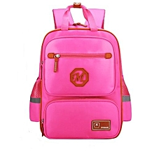 91587a4322d Children School Backpack For Boys Girl Waterproof - Pink