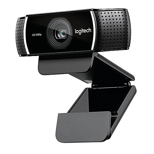 C922 Pro Stream Webcam 1080P Camera For HD Video Streaming & Recording