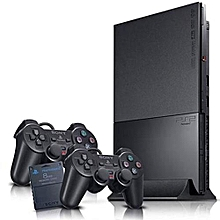 PS2 Slim Console + 2 Controller And 15 Downloaded Games for sale  Nigeria