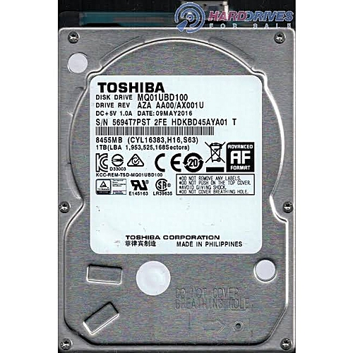 1TB INTERNAL HDD LAPTOP