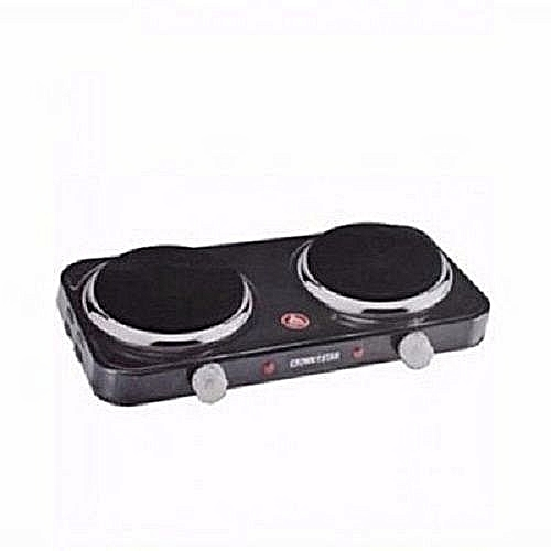 Double Burner Hot Plate - Two Face