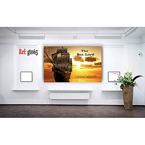 The Lord Sea 1 Piece HD Canvas Wall Art