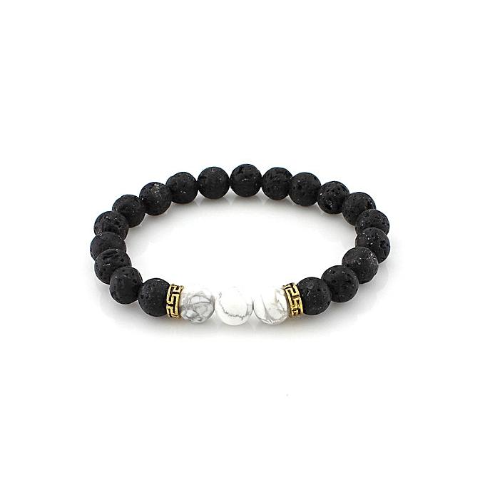 a7bece082e32f Exquisite Luxury Mens Charm Beaded Bracelet