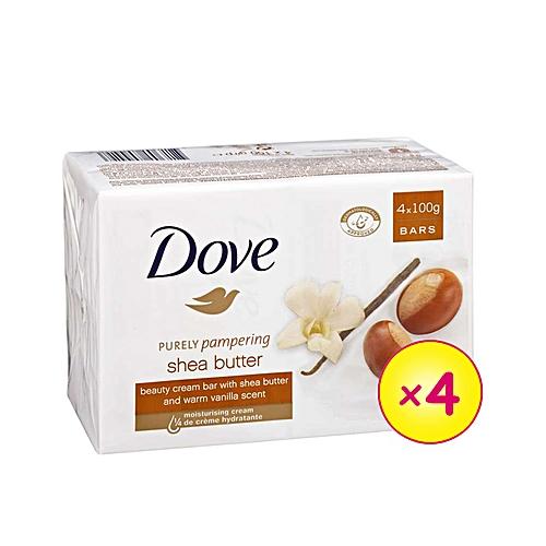 Shea Butter Beauty Soap (x 4)