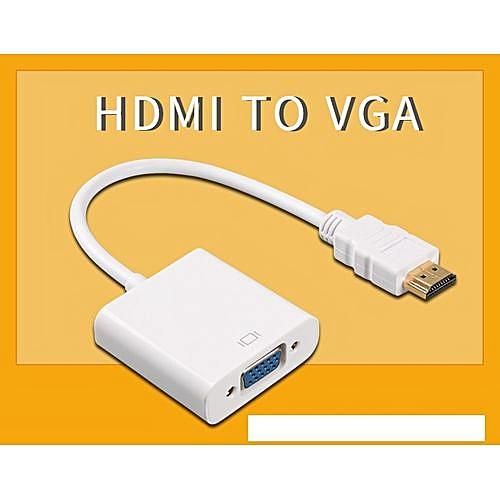 HDMI To VGA Adapter For PS4 Pro Raspberry Pi 3 2 Chromebook TV HDMI VGA Cable Digital Analog Audio VGA To HDMI Converter Cable