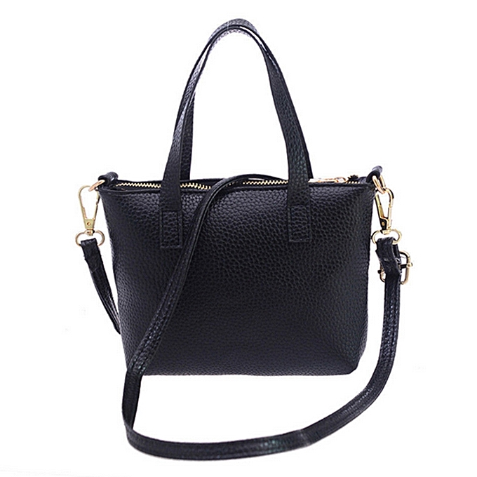 2e8af5a69a Korean Style Lichee Pattern PU Mini Handbag Tote Shoulder Bag Crossbody Bag  For Girls And Women