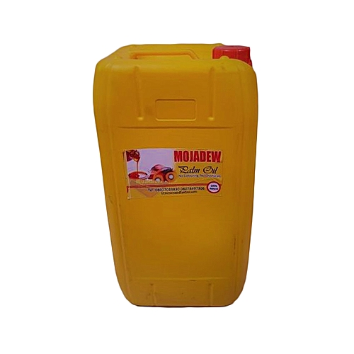 MOJADEW FRESH PALM OIL 25 Litres