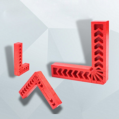 90 Degree Right Angle Auxiliary Locator Plastic Right Angle Block Red