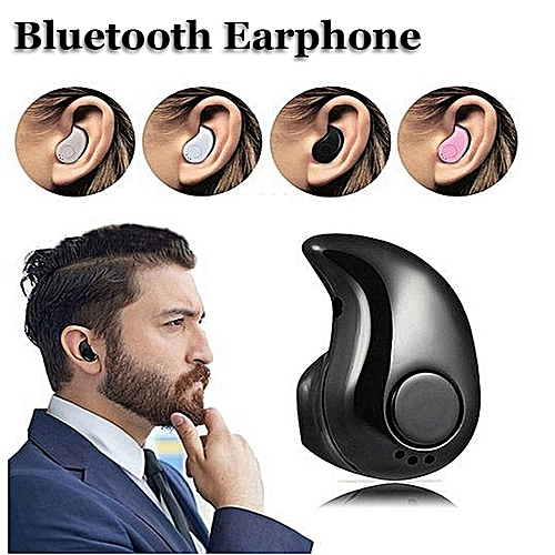 Earphone Bluetooth Headphones Headset For IPhone X Black