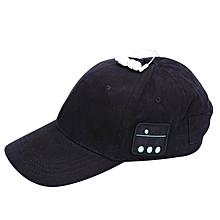 5b36559fa8c87 Earphone Hat Wireless Headphones Baseball Headset Mic Bluetooth Hat(Black)  JY-M