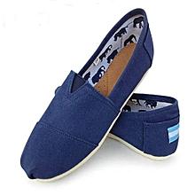 994a82e0220 Men  039 s Canvas Slip On Loafers Shoe - Blue