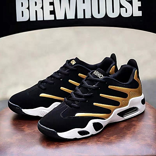 Elegant Designer Athletic Sneakers V2- Gold
