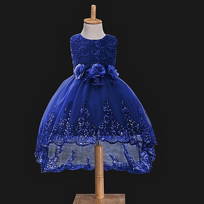 Buy Fashion Gauze Cotton Fashion Girl Elegant Wedding Party Ball ...