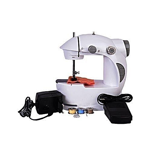 Mini Sewing Machine With Foot Pedal - Electric Operated-..
