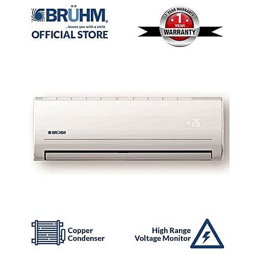 1HP Split Air Conditioner - BSA-09CR + Installation Kit + Free Vacuum Flask