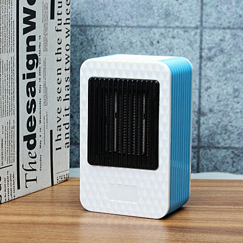 500W Handy Electric Desk Mini Air Heater Home Office Warmer Heating Fan Winter