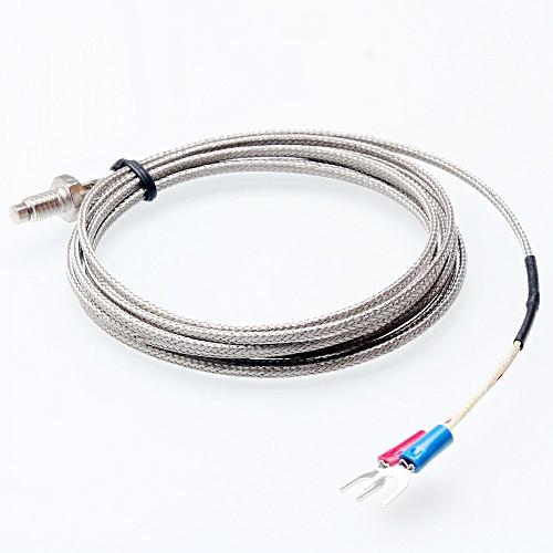 K Type Thermocouple Control Temperature Celsius Sensor - Silver