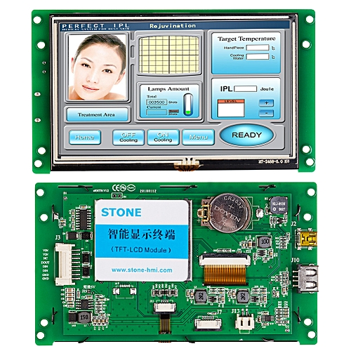 """5.0"""" TFT LCD With High Sensitive Touch Screen"""