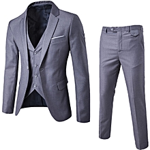 2e4e557e998d Suit Three-piece Groom Groomsmen Wedding Suit Suit-S-6XL