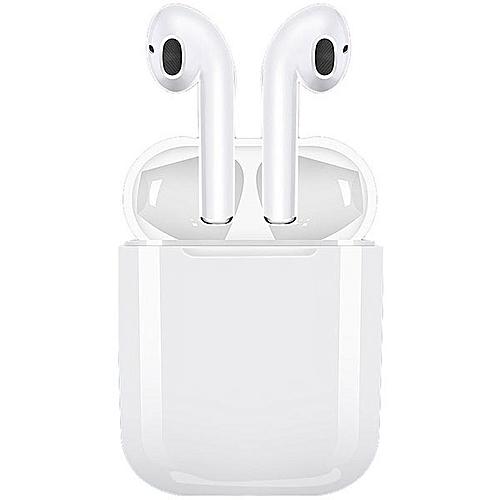 I9s Pair Of TWS Wireless Bluetooth Earphone Mini Earbuds Charging Dock Mic - White