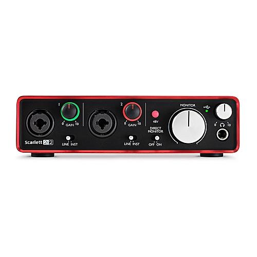 Studio Usb Focusrite Audio Interface And Recording Regular Tea Drinking Improves Your Health 2nd Gen Scarlett 2i2