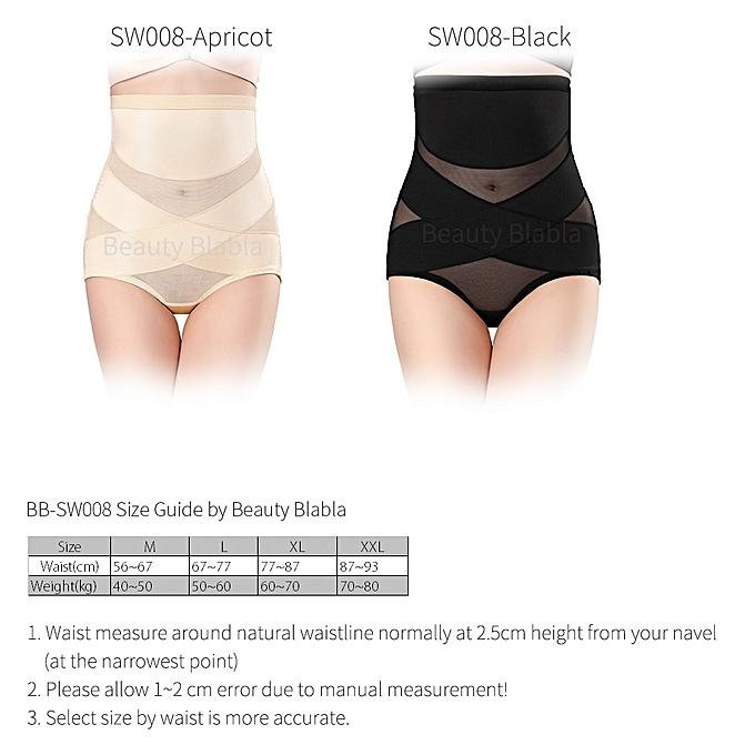 e9a5d1f81dd2 ... Women High Waist Body Shaper Panties Seamless Tummy Belly Control Waist  Slimming Pants Shapewear Underwear Waist ...