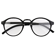 b6d28bb1d9329 Retro Geek Vintage Nerd Large Frame Fashion Round Clear Lens Glasses
