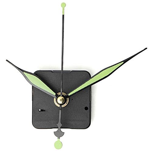 10 Pcs Quartz Clock DIY Repair Parts Kit + Luminous Hands
