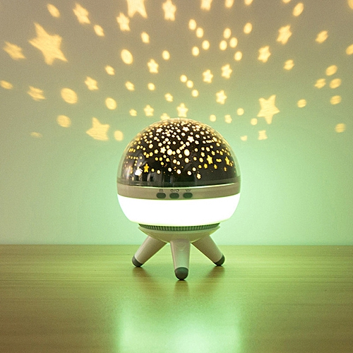 BRELONG Rotating Projection Night Light For Decoration