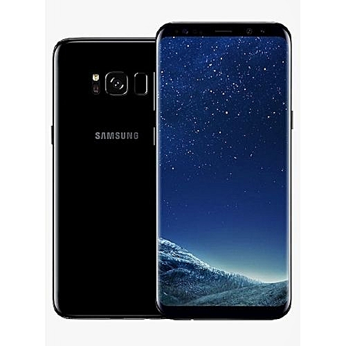 966bd8d1b Samsung Galaxy S8 Dual Sim 64GB ROM 4GB RAM 5.8-Inch 12MP+8MP Android 7.0  Nougat (Midnight Black)
