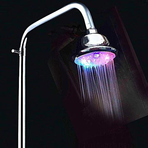 Colorful Self Change LED Colorful Alternating Luminous Shower Shower Head