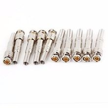 BNC CCTV Connectors - 10 Pcs