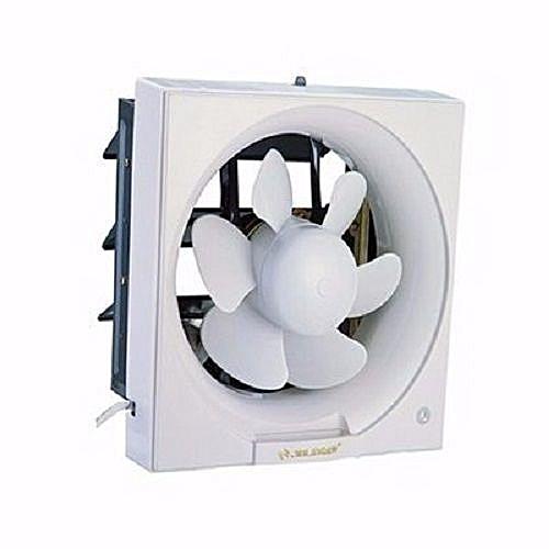 Extractor Exhaust PVC Kitchen Bathroom Toilet Wall Fan- 10 Inch