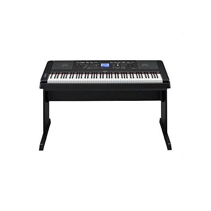 yamaha dgx 660b 88 key digital piano black. Black Bedroom Furniture Sets. Home Design Ideas