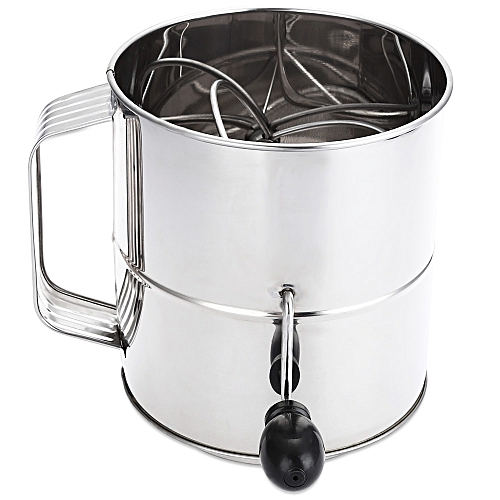 Stainless Steel Sieve Cup Powder Flour Mesh Baking Accessory