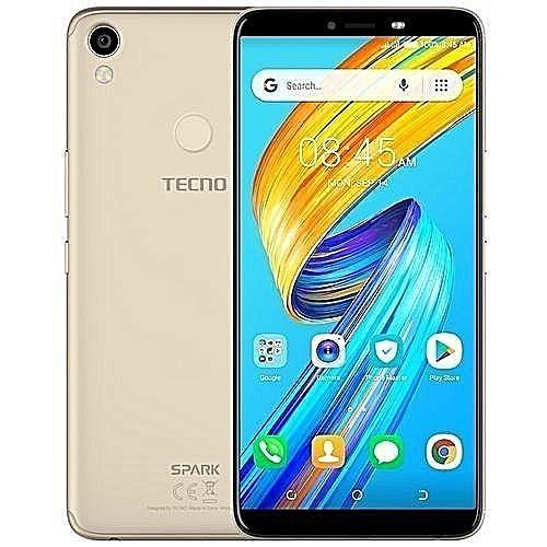 Spark 2 (KA70) 6-Inch HD (2GB,32GB ROM) Android 8 1 Oreo (Go Edition), 13MP  + 8MP Dual SIM 3G Fingerprint & Face Unlock Smartphone - Champagne Gold
