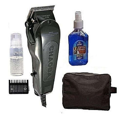 Hair Clipper (Bag & Aftershave) Set
