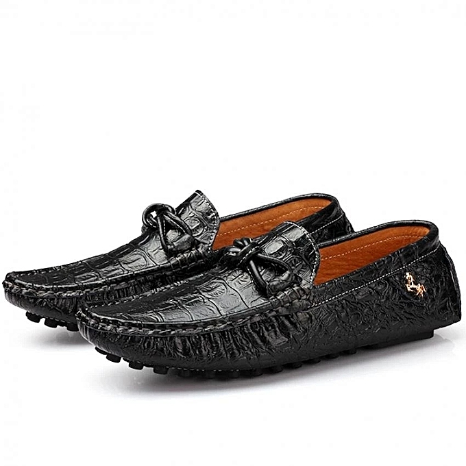 cfd8fb3ca542ea Zant Men s Fashion Doug Shoes Slip-Ons   Loafers-Black